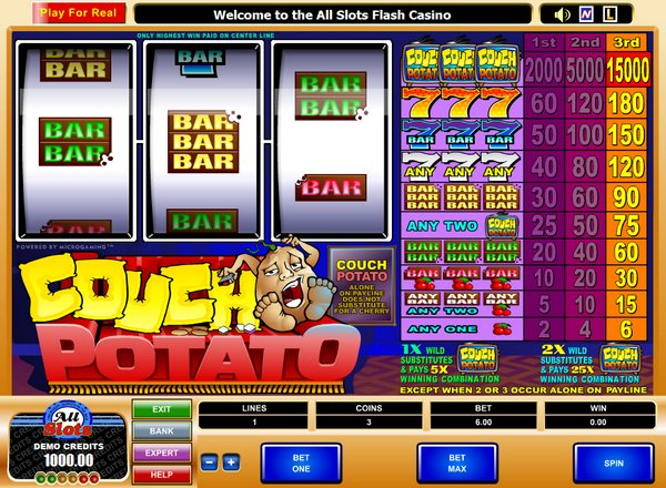 Couch Potato Online Slot for Real Money - Rizk Casino