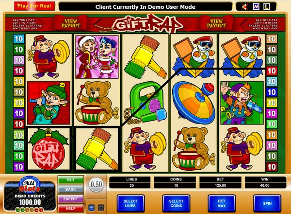 Gift Rap Slot - Play Free Microgaming Casino Games Online